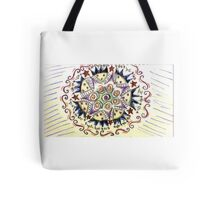Psychedelic Stars Tote Bag
