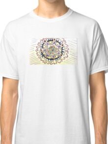 Psychedelic Stars Classic T-Shirt