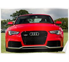 All New 2013 RS5 Coupe from Audi of Nashville - Chukkers for Charity 2012 Nashville Event Poster