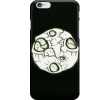 Cracked Moon iPhone Case/Skin