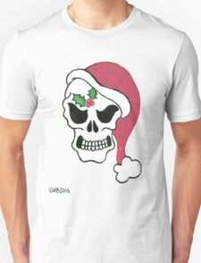 2013 Holiday ATC 10 - Santa Skull Unisex T-Shirt