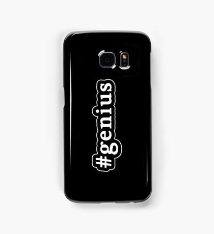 Genius - Hashtag - Black & White Samsung Galaxy Case/Skin
