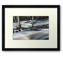 River four Framed Print
