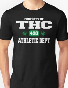 Cannabis THC Athletic Dept T-Shirt