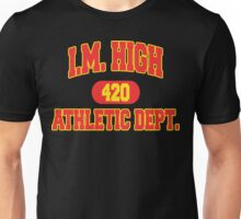 "Funny ""I. M. HIGH"" Marijuana Unisex T-Shirt"