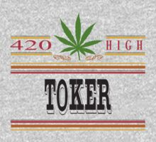 Marijuana Toker by MarijuanaTshirt