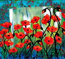 Red Poppies by TamiDalton