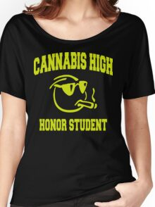 Cannabis High Women's Relaxed Fit T-Shirt