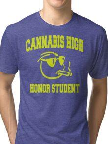 Cannabis High Tri-blend T-Shirt