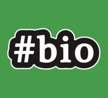 Bio - Hashtag - Black & White by graphix