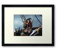 Never Bring a Knife to a Gun Fight Framed Print