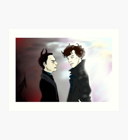 Dance With the Devil  Art Print