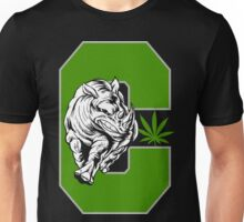 White Rhino Cannabis Unisex T-Shirt