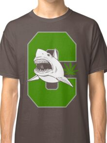 Great White Shark Cannabis Classic T-Shirt