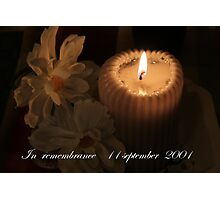 11 september Photographic Print