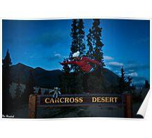 Carcross Yoga Poster