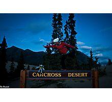 Carcross Yoga Photographic Print