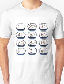 key pad T-Shirt