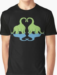 Dino Love Graphic T-Shirt