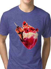 Heart Bomb Tri-blend T-Shirt