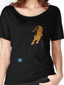 Big Kitty Women's Relaxed Fit T-Shirt