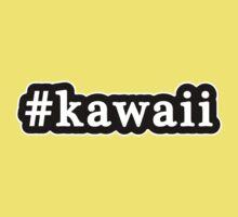 Kawaii - Hashtag - Black & White Kids Clothes