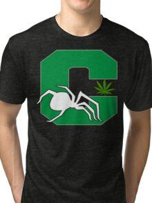 White Widow Cannabis T-Shirts Hoodies Tri-blend T-Shirt
