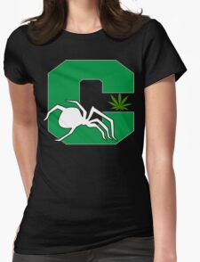 White Widow Cannabis T-Shirts Hoodies Womens Fitted T-Shirt