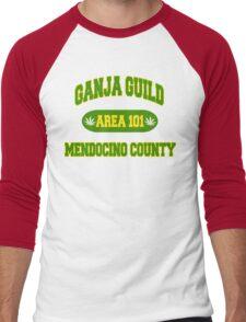 California Ganja Men's Baseball ¾ T-Shirt