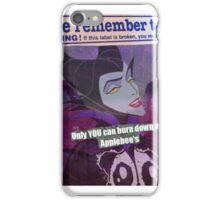 DARIA WITCH HUNT iPhone Case/Skin