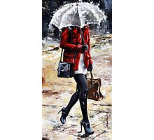 Rainy day - Woman of New York /09 Photographic Print