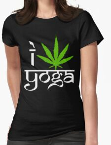 I Cannabis Yoga T-Shirt