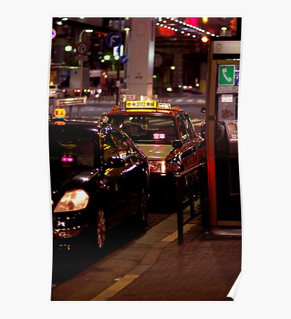 Tokyo Cabs Poster