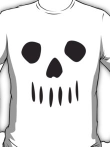 Simple Skull Black T-Shirt