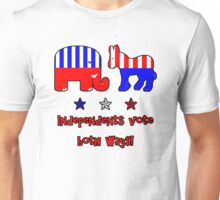 Independents Vote T-Shirt Unisex T-Shirt