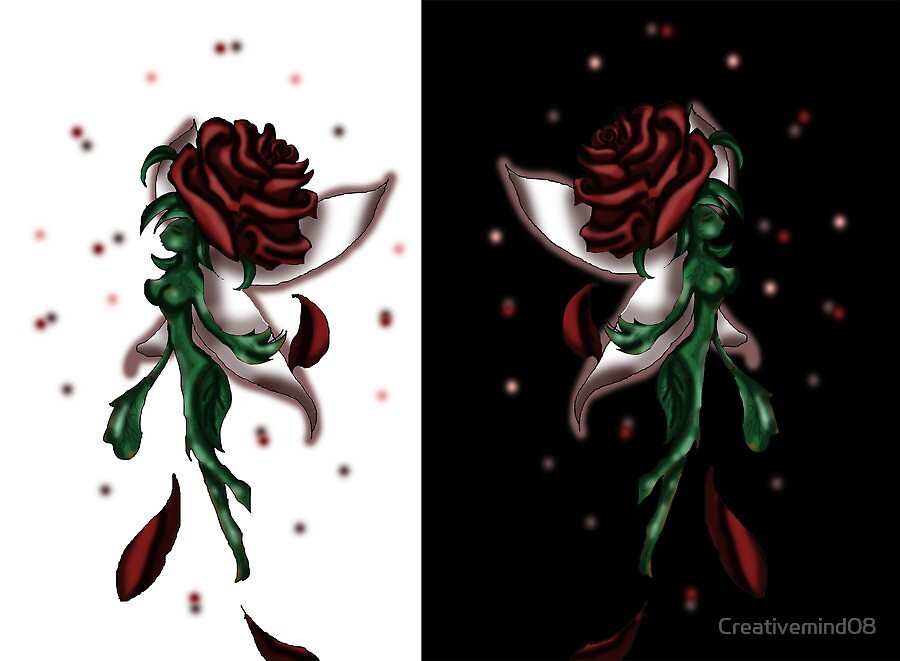 Enchanted Double Rose by Creativemind08