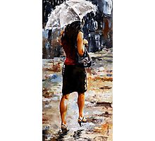 Rainy day - Woman of New York /04 Photographic Print
