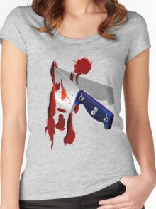 The Butcher Knife Women's Fitted Scoop T-Shirt