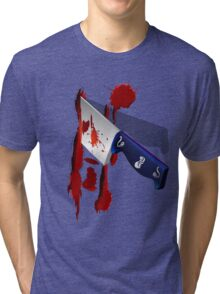 The Butcher Knife Tri-blend T-Shirt
