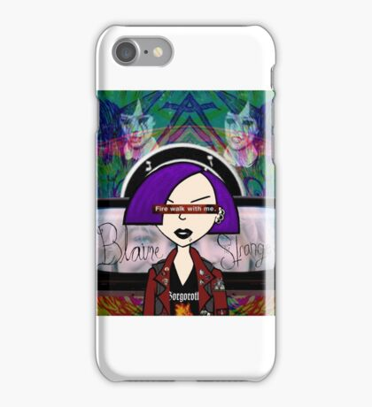 Jane Lane Is Dead iPhone Case/Skin