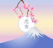 Mt Fuji Plum Blossoms Spring Japanese Umenohana by Beverly Claire Kaiya