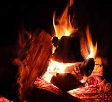 Saturday Night Fire by 313 Photography