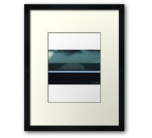 Trophy Wife Hides Head Framed Print