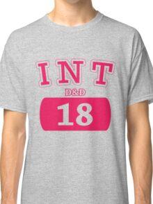 Varsity D&D - INT 18 Classic T-Shirt