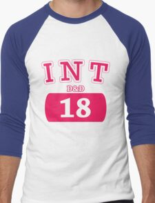 Varsity D&D - INT 18 Men's Baseball ¾ T-Shirt