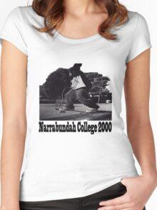 Narrabundah College Skatepark 2000 Women's Fitted Scoop T-Shirt
