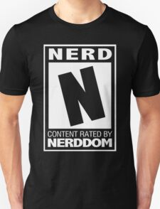 Rated N for Nerd (White) T-Shirt