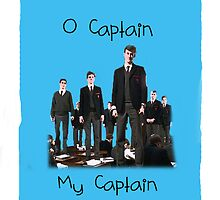 O Captain, My Captain iPhone Case  by Laurynsworld