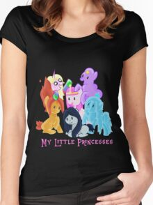 Pony Princesses Women's Fitted Scoop T-Shirt