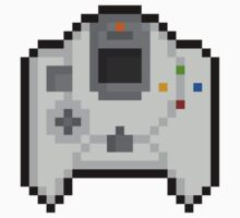 Pixel Dreamcast Controller Sticker by PixelBlock